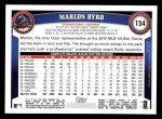 2011 Topps #154  Marlon Byrd  Back Thumbnail
