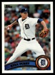 2011 Topps #264  Ryan Perry  Front Thumbnail