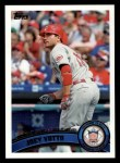2011 Topps #211   -  Joey Votto Most Valuable Player Front Thumbnail
