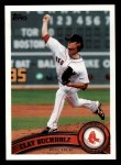 2011 Topps #208  Clay Buchholz  Front Thumbnail