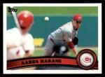 2011 Topps #249  Aaron Harang  Front Thumbnail