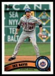 2011 Topps #290  Ike Davis  Front Thumbnail