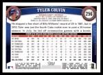 2011 Topps #256  Tyler Colvin  Back Thumbnail