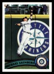2011 Topps #252  Michael Saunders  Front Thumbnail