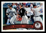 2011 Topps #202   -  Jose Bautista / Paul Konerko / Miguel Cabrera AL HR League Leaders Front Thumbnail