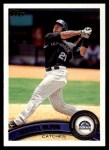 2011 Topps #276  Miguel Olivo  Front Thumbnail