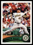 2011 Topps #280  Andrew Bailey  Front Thumbnail