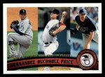 2011 Topps #235   -  Felix Hernandez / Clay Buccholz / David Price AL ERA League Leaders Front Thumbnail