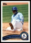 2011 Topps #289  Yuniesky Betancourt  Front Thumbnail