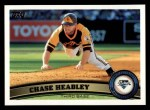 2011 Topps #206  Chase Headley  Front Thumbnail