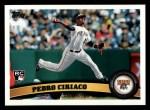 2011 Topps #238  Pedro Ciriaco  Front Thumbnail