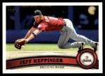 2011 Topps #298  Jeff Keppinger  Front Thumbnail
