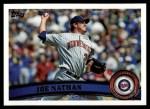 2011 Topps #366  Joe Nathan  Front Thumbnail