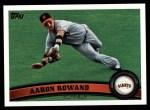 2011 Topps #363  Aaron Rowand  Front Thumbnail