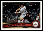 2011 Topps #329  Brett Wallace  Front Thumbnail