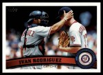2011 Topps #360  Ivan Rodriguez  Front Thumbnail