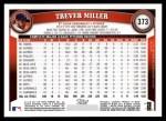 2011 Topps #373  Trever Miller  Back Thumbnail