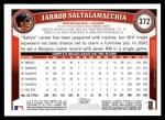 2011 Topps #372  Jarrod Saltalamacchia  Back Thumbnail