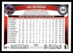 2011 Topps #308  Ian Desmond  Back Thumbnail