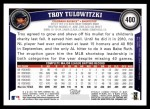 2011 Topps #400  Troy Tulowitzki  Back Thumbnail