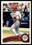 2011 Topps #325  Jayson Werth  Front Thumbnail