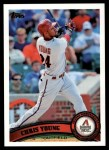 2011 Topps #316  Chris Young  Front Thumbnail