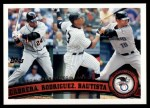 2011 Topps #306   -  Miguel Cabrera / Alex Rodriguez / Jose Bautista AL RBI League Leaders Front Thumbnail