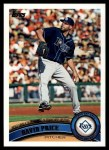 2011 Topps #328   -  David Price Record Breaker Front Thumbnail