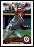 2011 Topps #341  Kyle Kendrick  Front Thumbnail