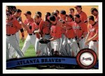 2011 Topps #319   Braves Team Front Thumbnail