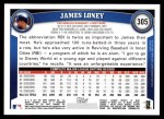 2011 Topps #305  James Loney  Back Thumbnail