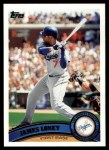 2011 Topps #305  James Loney  Front Thumbnail