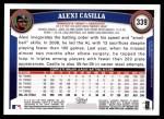2011 Topps #339  Alexi Casilla  Back Thumbnail