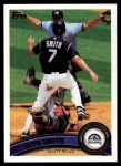 2011 Topps #301  Seth Smith  Front Thumbnail
