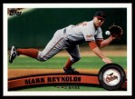 2011 Topps #378  Mark Reynolds  Front Thumbnail