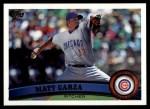 2011 Topps #370  Matt Garza  Front Thumbnail