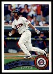 2011 Topps #485  Delmon Young  Front Thumbnail