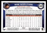2011 Topps #489  Marc Rzepczynski  Back Thumbnail