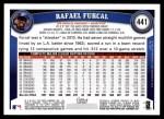 2011 Topps #441  Rafael Furcal  Back Thumbnail