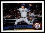 2011 Topps #413  Derek Holland  Front Thumbnail