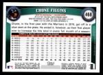 2011 Topps #468  Chone Figgins  Back Thumbnail