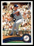 2011 Topps #473  Chad Billingsley  Front Thumbnail