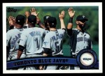 2011 Topps #447   Blue Jays Team Front Thumbnail
