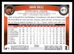 2011 Topps #411  Josh Bell  Back Thumbnail