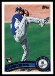 2011 Topps #471  Tim Collins  Front Thumbnail
