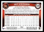 2011 Topps #429  Skip Schumaker  Back Thumbnail