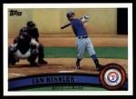 2011 Topps #405  Ian Kinsler  Front Thumbnail
