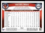 2011 Topps #430  Trevor Crowe  Back Thumbnail