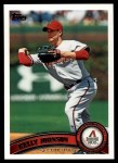 2011 Topps #419  Kelly Johnson  Front Thumbnail