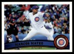 2011 Topps #431  Marcos Mateo  Front Thumbnail